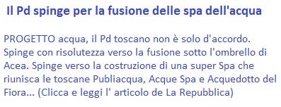 Fusione - La Repubblica